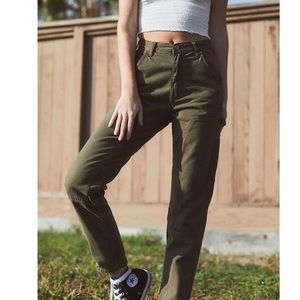 John Galt olive Jane cargo pants medium